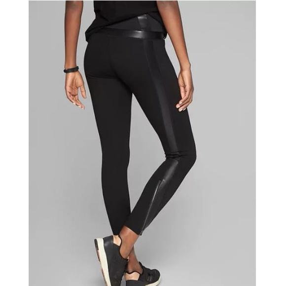 1a0e5de575 Athleta Pants | Black Luxe Ponte Legging | Poshmark